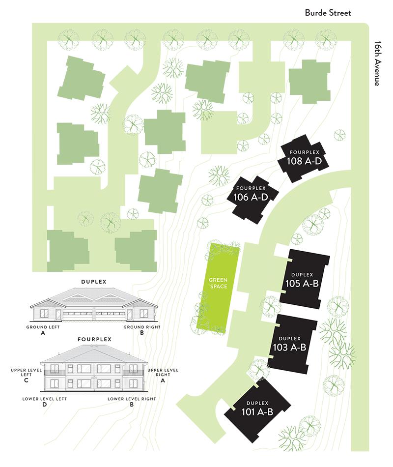 Park Ridge community site plan